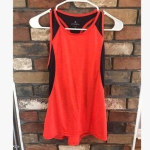 Athleta Spinner Racer Back Workout Tank Top Small